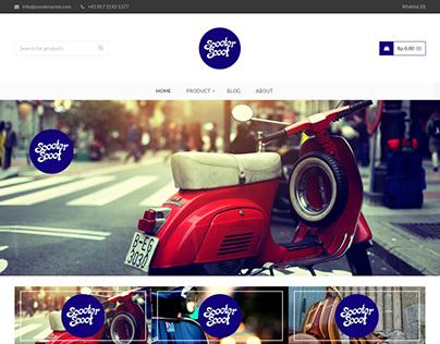 ScooterScoot Website http://scooterscoot.com/