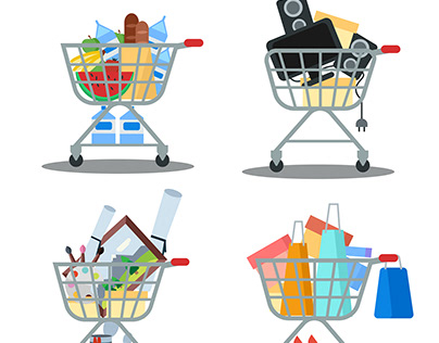 Shopping carts pack