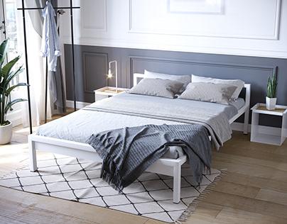 Bed Room furniture visualization