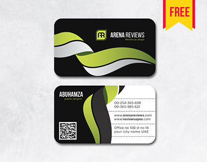 #free Latest Black #businesscard