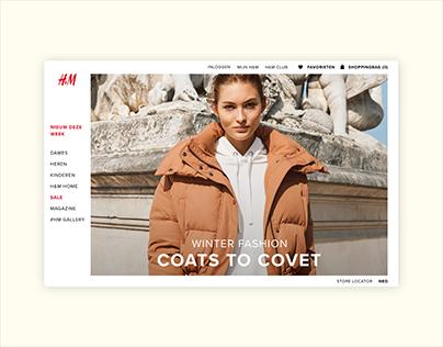 UI | H&M REDESIGN