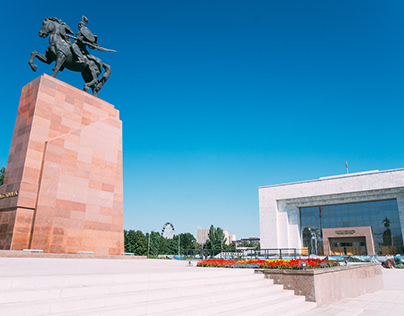 Kyrgyzstan, at the crossroads of civilizations.