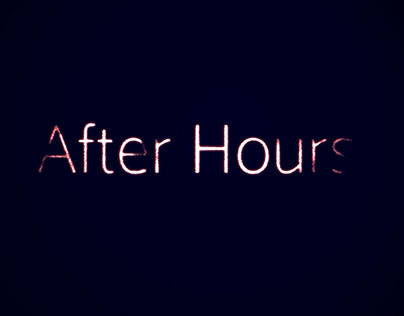 Motion Graphics: After Hours Title Sequence