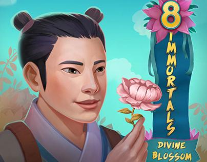 8 Immortals. Divine Blossom