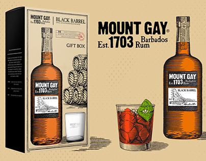 Mount Gay Black Barrel Giftbox