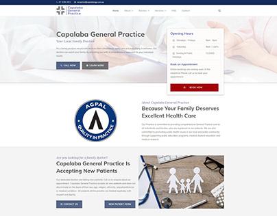 Capalaba General Practice - Wordpress Website