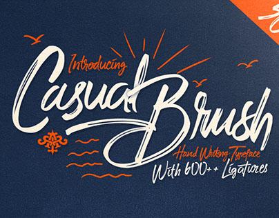 Casual Brush + Swash