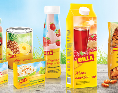 Private Label BILLA | Package Design