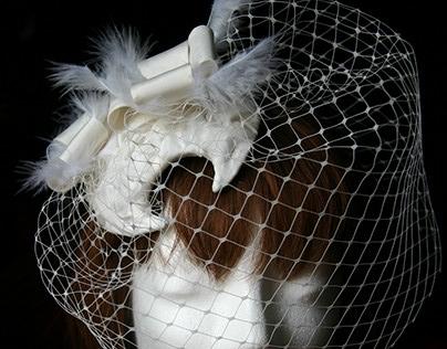 Ozmonda Wedding hat by Ozmonda
