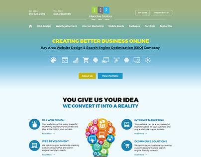 Web/UI Design - Creative Design Agency