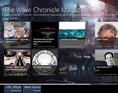 Wave Chronicle Magazine App