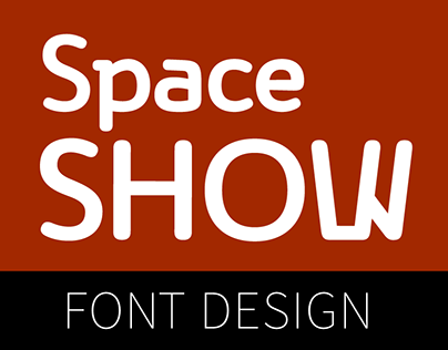 Space Show / Display font / David Engelby Foundry