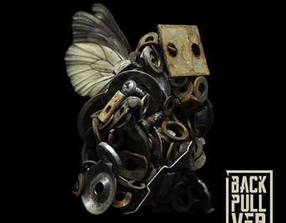 BACKPULLVER. Album cover and music video
