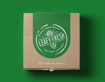 Leafy Fresh branding