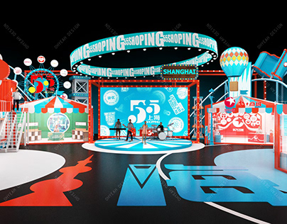 Stage Design for Shanghai 55Shopping Gala-2021