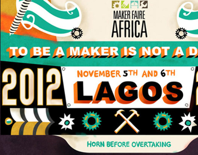 Maker Faire Africa '12 Event Graphics