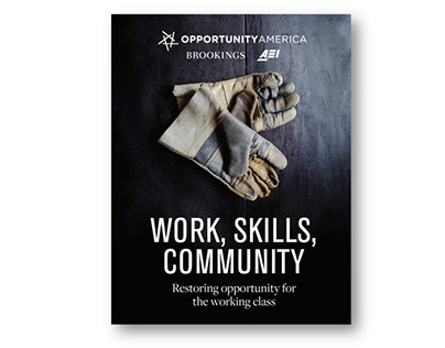 "Report Design (""Work, Skills, Community"")"