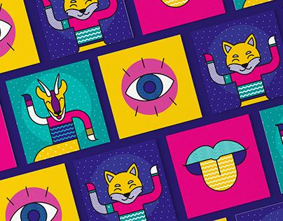 Pop music - Illustration & Identité visuelle