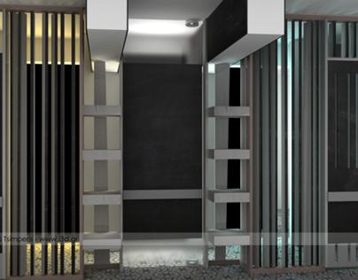 Interior Design of a Residence Hallway