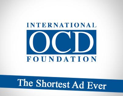 International OCD Foundation - Shortest Ad Ever