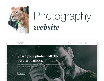 Capturer Website (Photography)