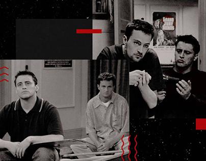 Chandler & Joey | Friends Wil Be Friends