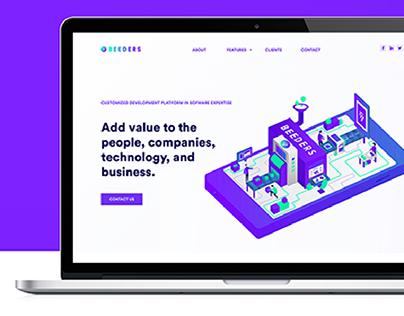 Website Redesign   Beeders