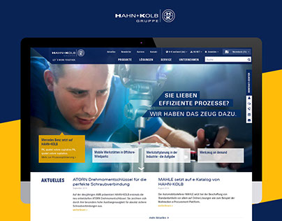 Hahn+Kolb Onlineshop