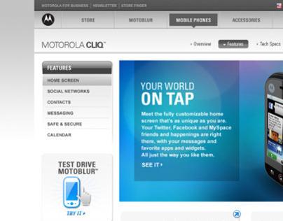 Motorola - MOTOBLUR