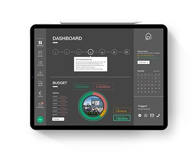Dashboard Concept • Smart Building App