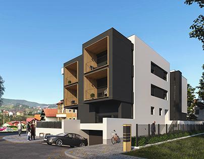 Residential building, Hotonj, Sarajevo, B&H