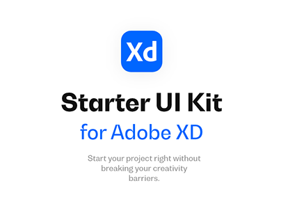 Starter kit - Adobe XD