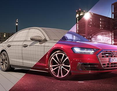 Audi A8 | CGI | 3D Modeling