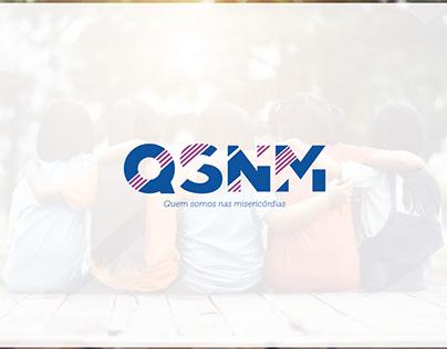 QSMN logo re.design & New Brandign Editorial