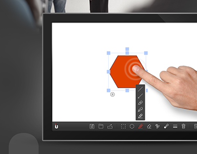 U project - U Multi-touch Whiteboard