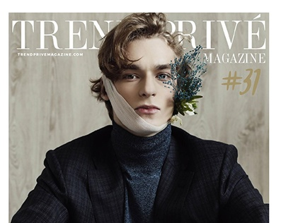 """Head Aches"" cover story for TREND PRIVE magazine"