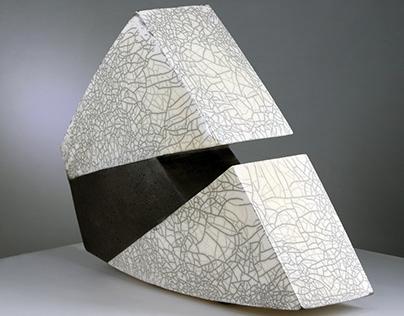Raku Fired |Contemporary Ceramic Sculpture