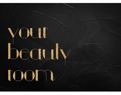 Визитка для салона красоты