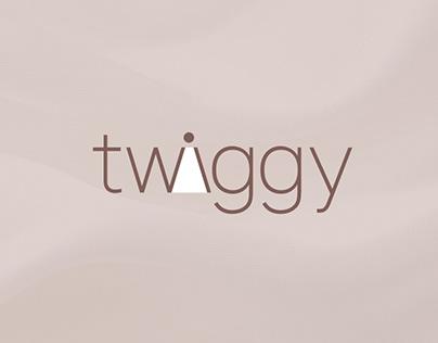 Фирменный стиль бренда «Twiggy»