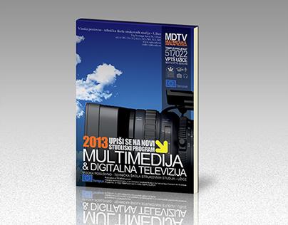 MDTV promo notebook