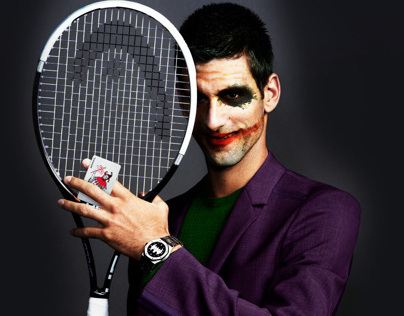 "Novak Djokovic - ""The Djoker"""