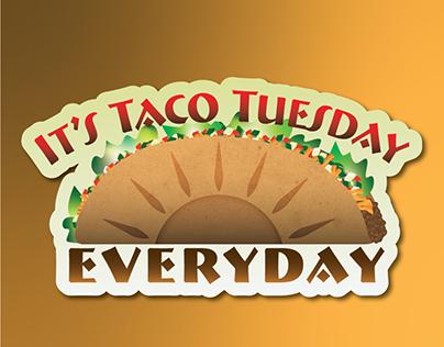 Taco Sticker Project