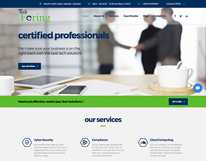 Business website project
