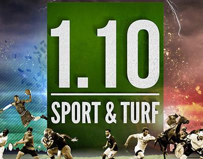 """Visuel graphique """"Indice : sport & turf"""""""