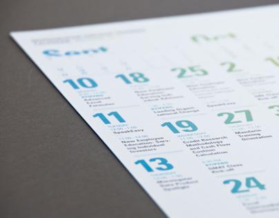 Morningstar Training Calendar