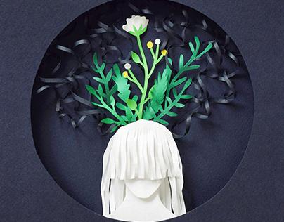 Mental Health | Paper art