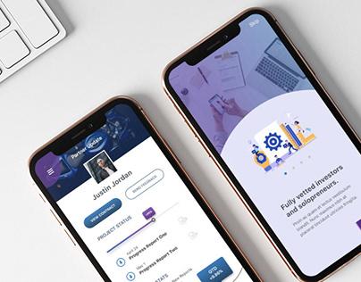 App Product Design, Lend Well - a FinTech Solution