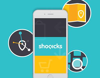 Branding and UI for Shopicks app