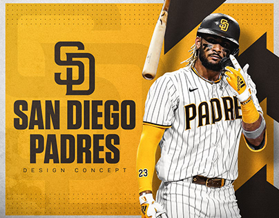 San Diego Padres | Design Concept | Personal Project