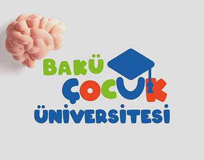 BAKÜ ÇOCUK ÜNİVERSİTESİ Logo|Branding
